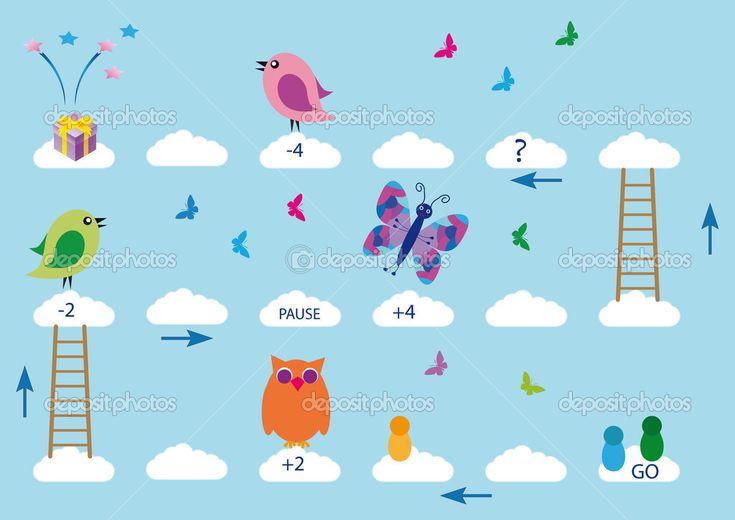 Gra planszowa — Ilustracja stockowa #9396972