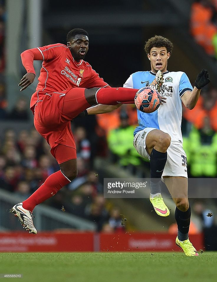 <a gi-track='captionPersonalityLinkClicked' href=/galleries/search?phrase=Kolo+Toure&family=editorial&specificpeople=204364 ng-click='$event.stopPropagation()'>Kolo Toure</a> of Liverpool competes with <a gi-track='captionPersonalityLinkClicked' href=/galleries/search?phrase=Rudy+Gestede&family=editorial&specificpeople=4412878 ng-click='$event.stopPropagation()'>Rudy Gestede</a> of Blackburn Rovers during the FA Cup Quarter Final match between Liverpool and Blackburn Rovers at Anfield on…