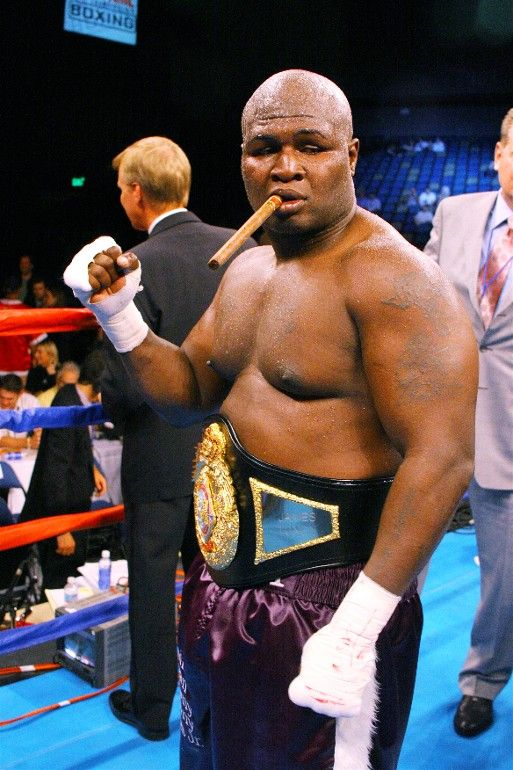 James Toney having a cigar | The Art of Fight | James ...