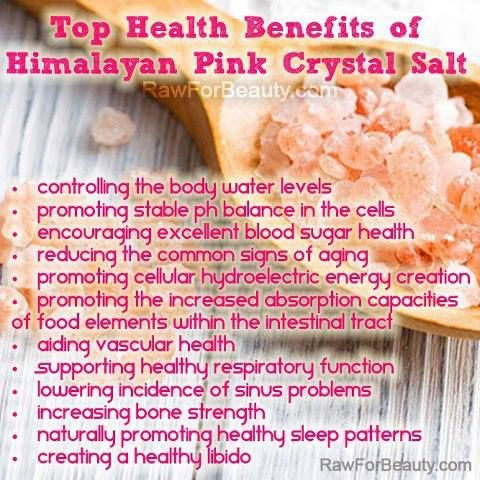 49 best Healing Benefits of Dead Sea & Himalayan Salt images on Pinterest