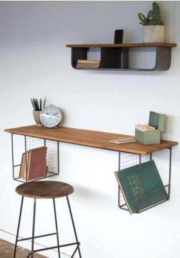 11+ Floating desk and shelves ideas in 2021