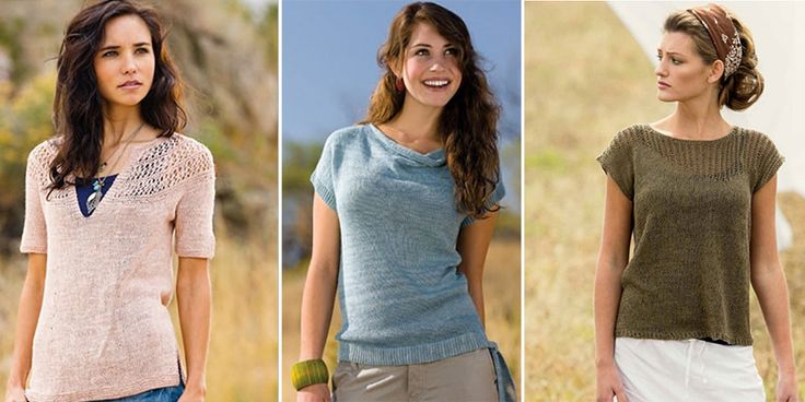 Knit tops are taking over our summer knitting! Read on for a special deal on popular knitscenepatterns from past issues.