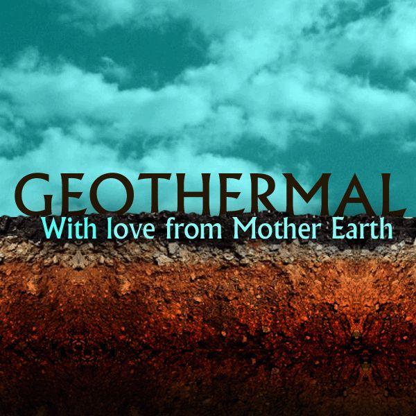 Geothermal Energy Slogans Cool Poster Image