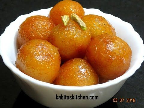 Bread Gulab Jamun Recipe-Instant Gulab Jamun-How To make Perfect Bread Gulab Jamun-Indian Sweets - YouTube