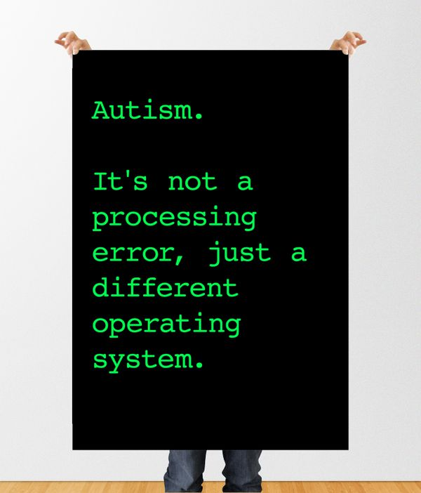 Autism Spectrum Disorder Awareness by Candace Hoeckley, via Behance