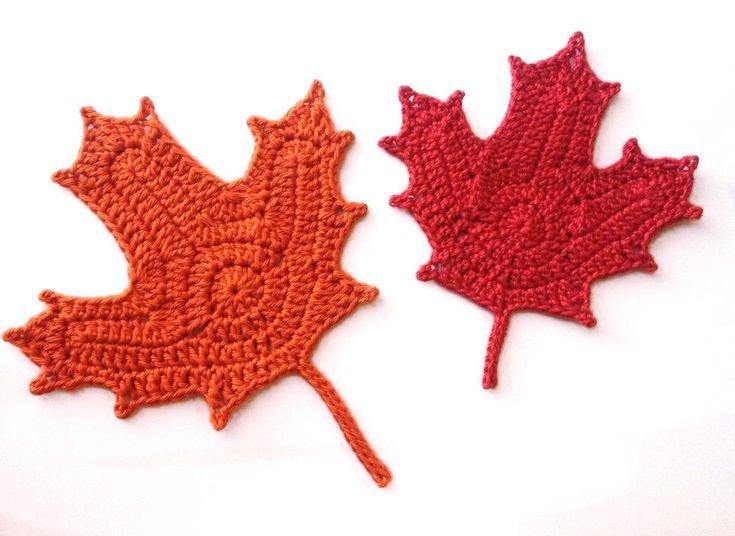 Free Crochet Pattern For Maple Leaf : Best 25+ Crochet fall ideas on Pinterest