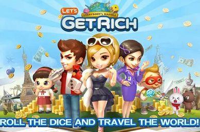 Tutorial Android Indonesia: LINE Lets Get Rich Tips & Trik Agar Selalu Menang