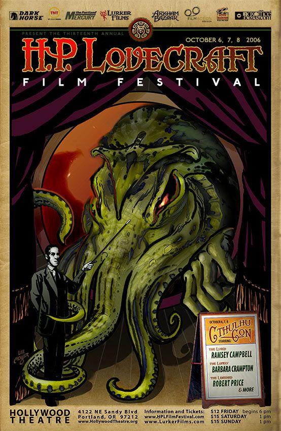 HP Lovecraft Film Festival Poster 2006