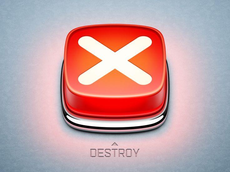 Destroy app icon
