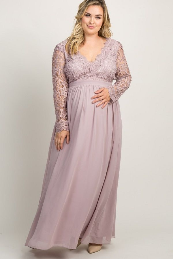 c8e21bf74a Plus Size Maternity Maxi Dress - Maternity Plus Size Maxi Dresses in ...