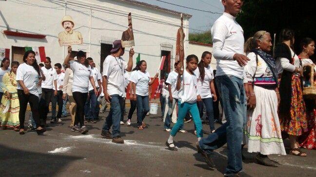 Desfile conmemoración Revolución Mexicana