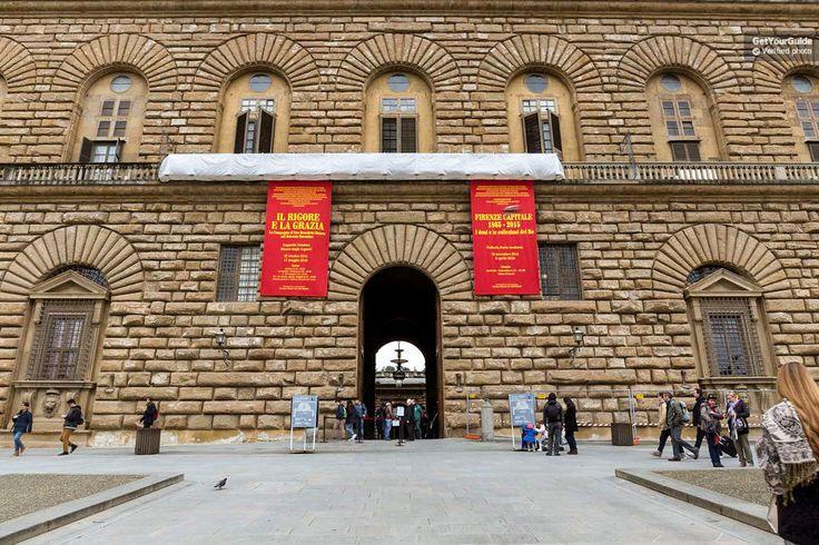 Florence: billet d'entrée au palais Pitti