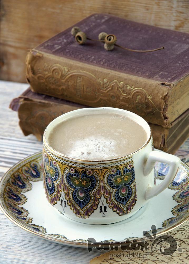 Kawa i stare książki