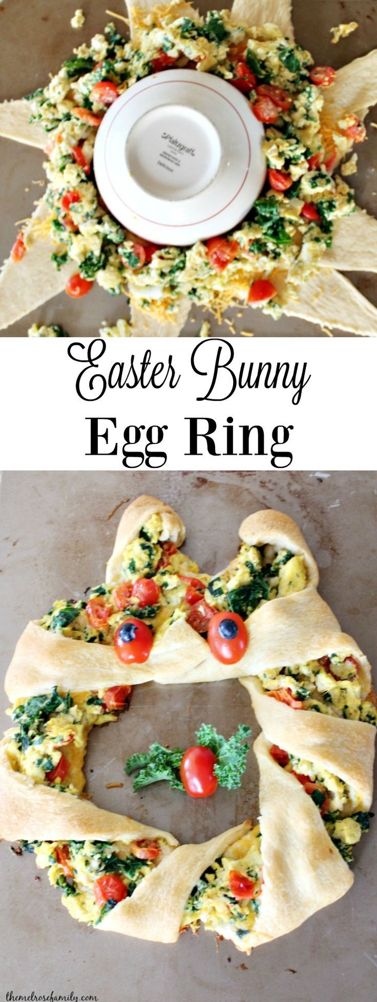 Easter Bunny Egg Ring is the perfect breakfast recipe to celebrate Spring with.