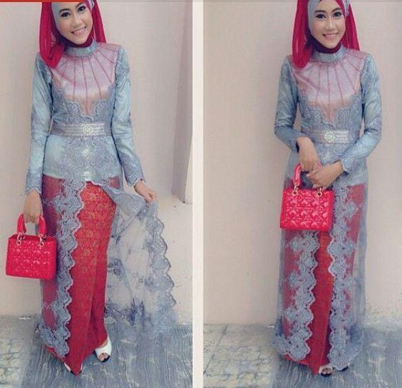 Nice & elegant! Esp the bag!-Baju Kurung Moden