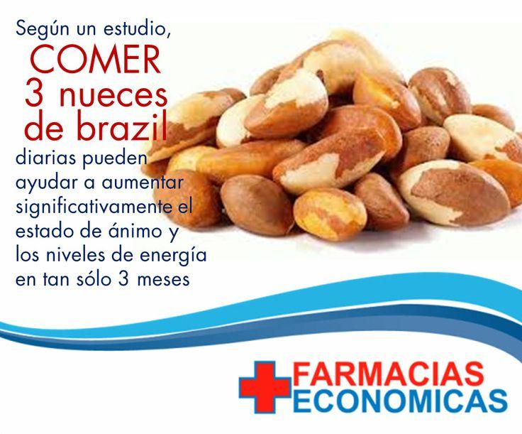 ¡Incluye Nuez de Brasil a tu dieta! Es la más rica fuente natural de selenio.