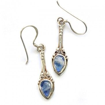 Moonstone Earrings 1 - Earrings - Silver Jewellery - Jewellery
