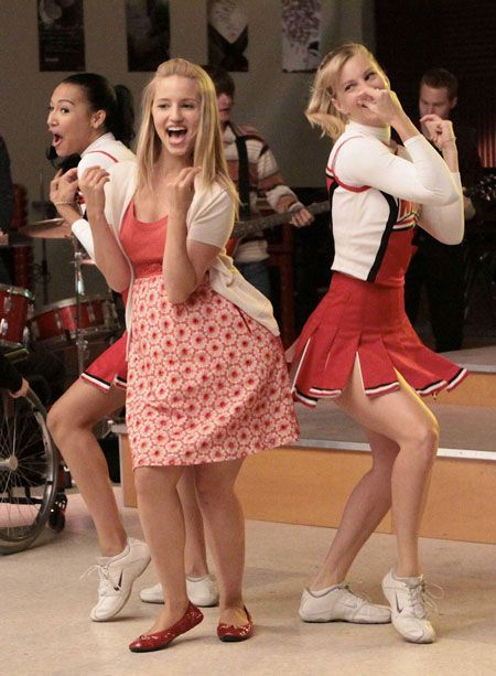 Glee's 100th Episode: Cast Reacts to Brittana and Quinn's Song