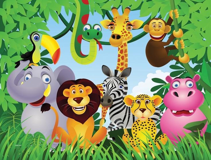 jungle  Murals   Pro Art Murals - Jungle Murals
