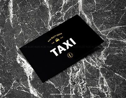 """Check out new work on my @Behance portfolio: """"Business card design_TAXI"""" http://be.net/gallery/31738675/Business-card-design_TAXI"""