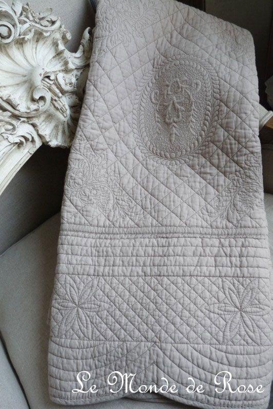 17 meilleures id es propos de couvre lit boutis sur pinterest couvre lit - Dessus de lit maison du monde ...