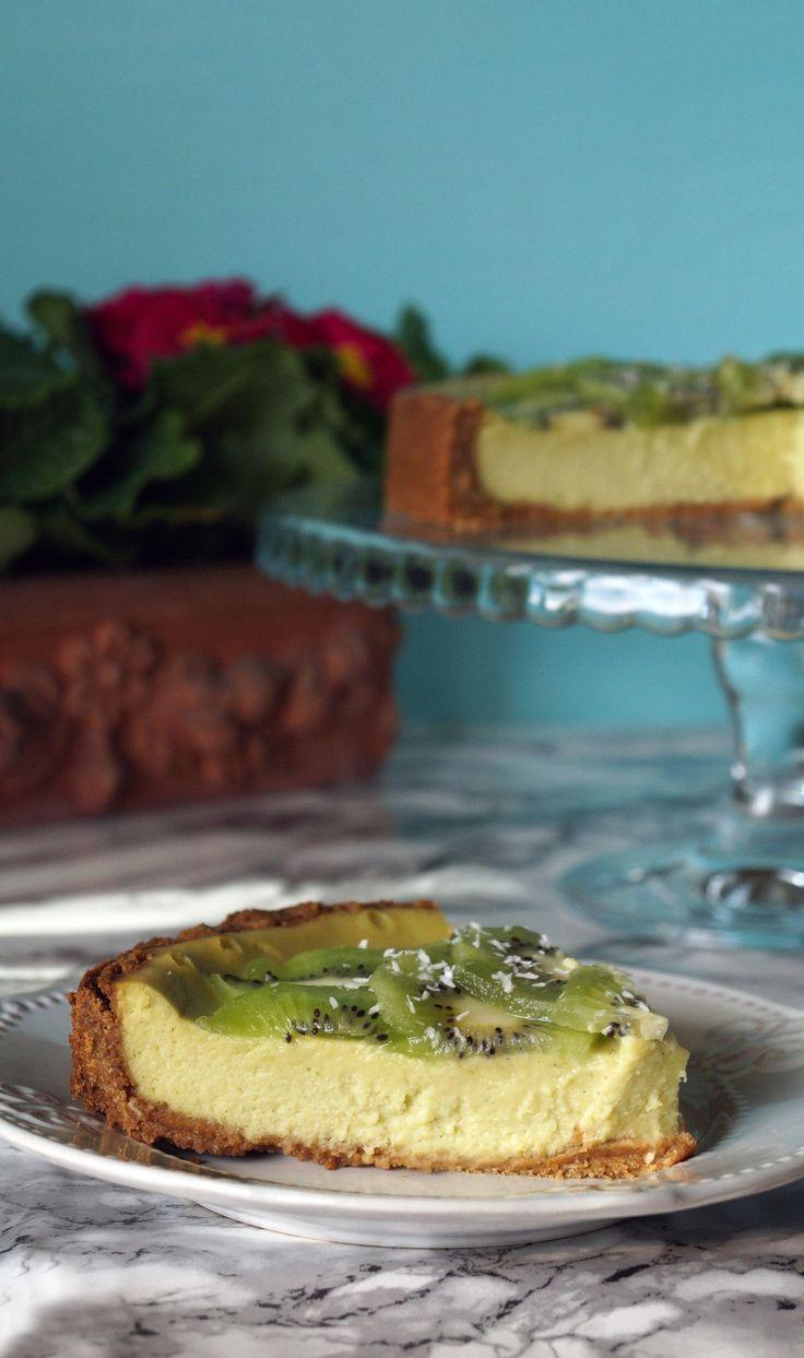 cheesecake avocado e kiwi