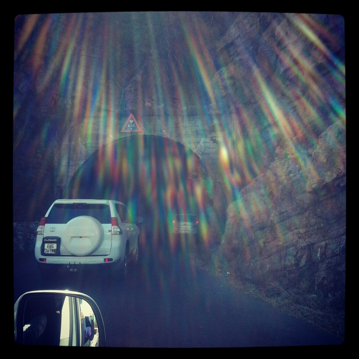 Harties tunnel.