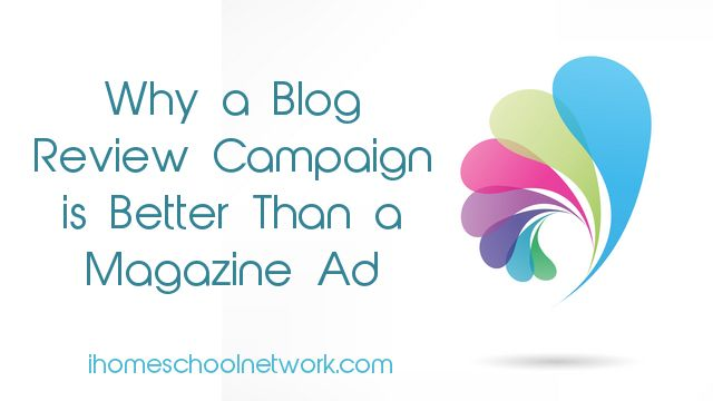 Why a Blog Review Campaign is Better than a Magazine Ad