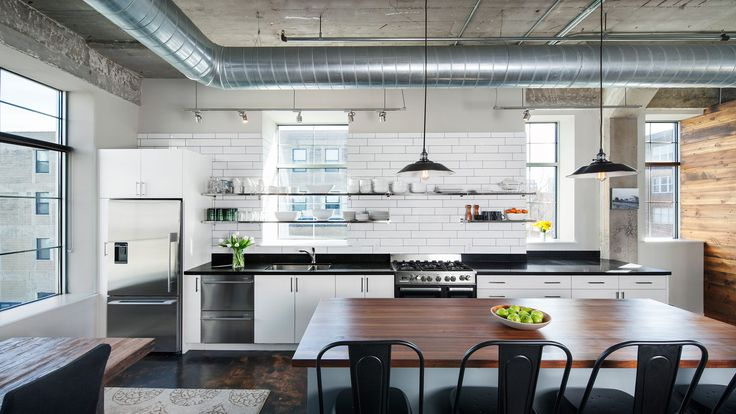 North Loop Loft Remodeling | A&H Architecture