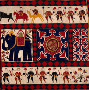Wall hanging (detail), 20th century, © Victoria and Albert Museum, London