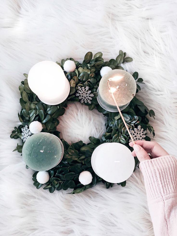 Inlovewith Christmas // Adventskranz