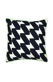 PRINTED GEOMETRIC HOUNDS TOOTH 48X48CM SCATTER CUSHION