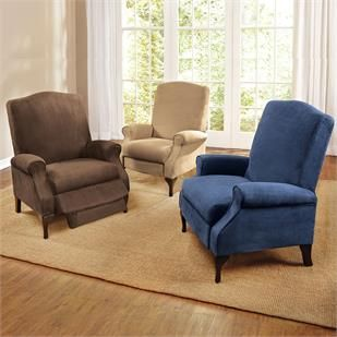 Shop for Extra Wide Suede Look Recliner and more Chairs   Recliners on  Brylanehome. 39 best Furniture   plus size images on Pinterest   Living room