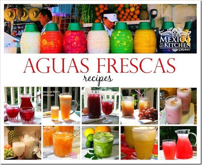 10 Aguas frescas