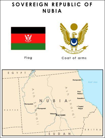 Sovreign Republic of Nubia by SoaringAven.deviantart.com on @deviantART