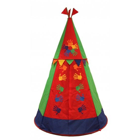 Just Kiddin' - Rainbow Teepee Play House Even I want one of these!!! #Entropywishlist #pintowin