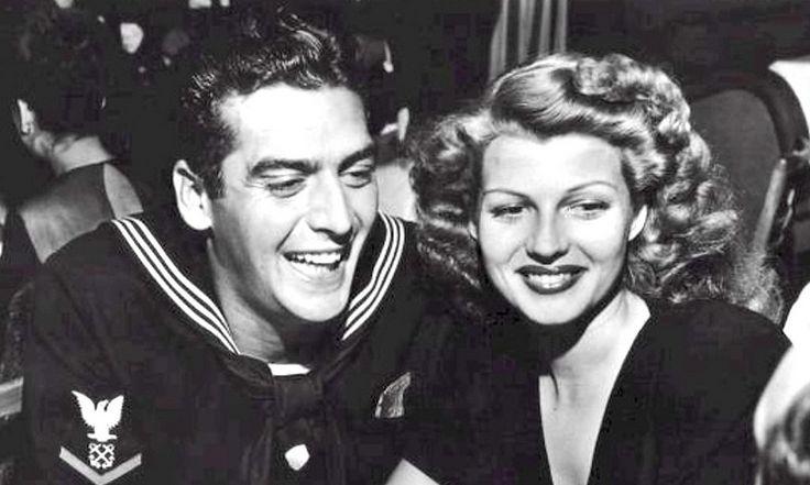 Rita Hayworth and Vic Mature - dating at the start of WW2 (1942) - BJ  Alias