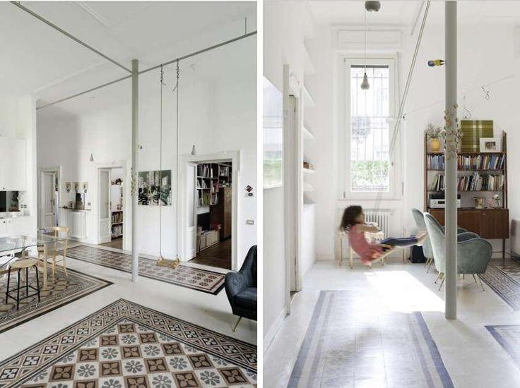 Finte piastrelle per pavimenti - Tappeti in vinile