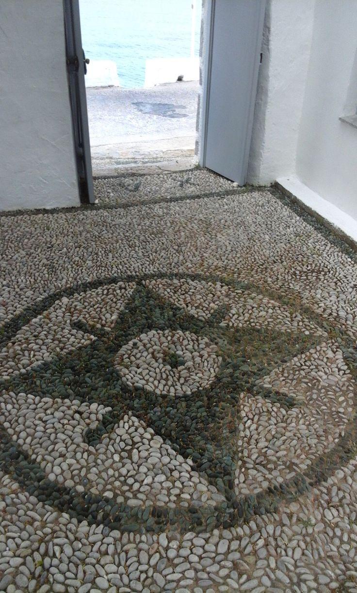 pebble mosaic-traditional art