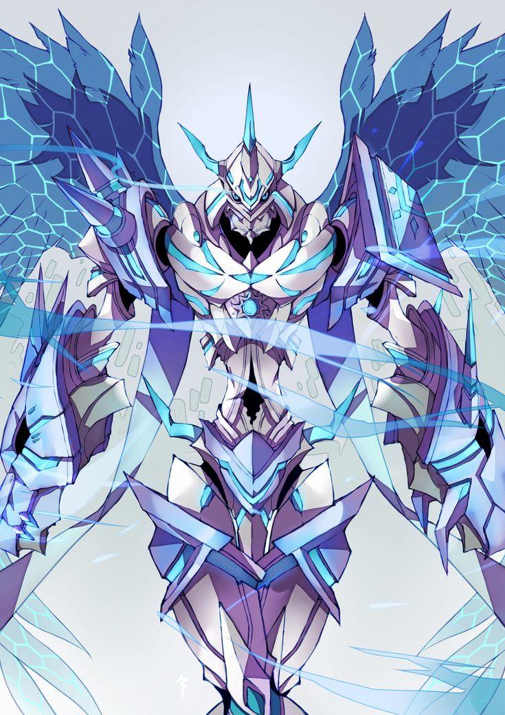 ArtStation Omegamon S, Natea Sora in 2020 Digimon