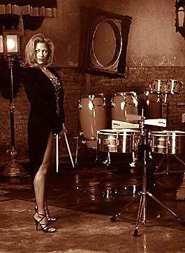 Sheila E- Mexican American drummer.