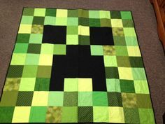 66 best Minecraft Quilts images on Pinterest   DIY, Bag and Creative : minecraft quilt - Adamdwight.com
