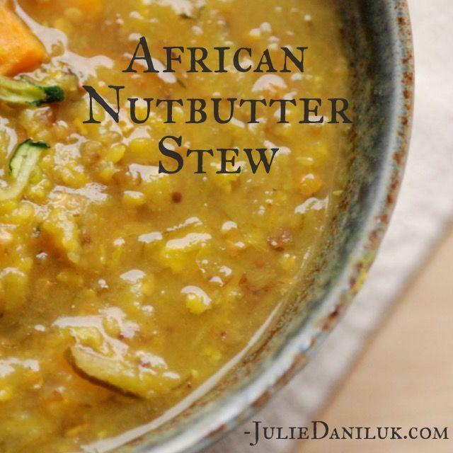 African Nutbutter Stew