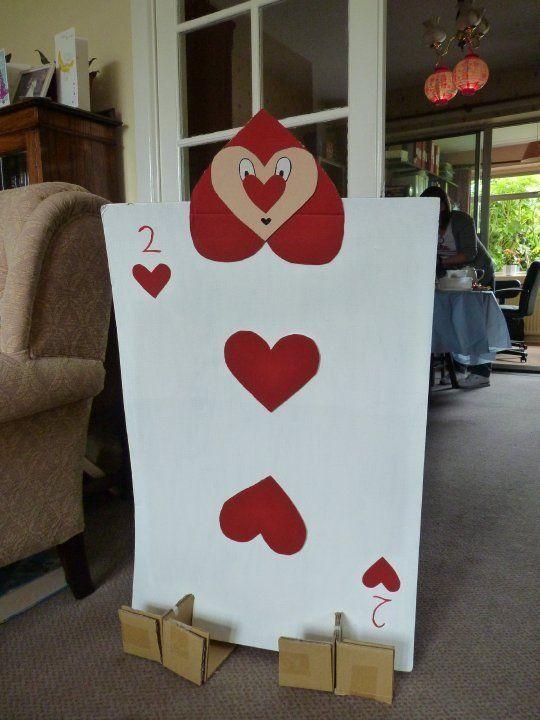 Alice In Wonderland Card Soldier Wonderland Projects