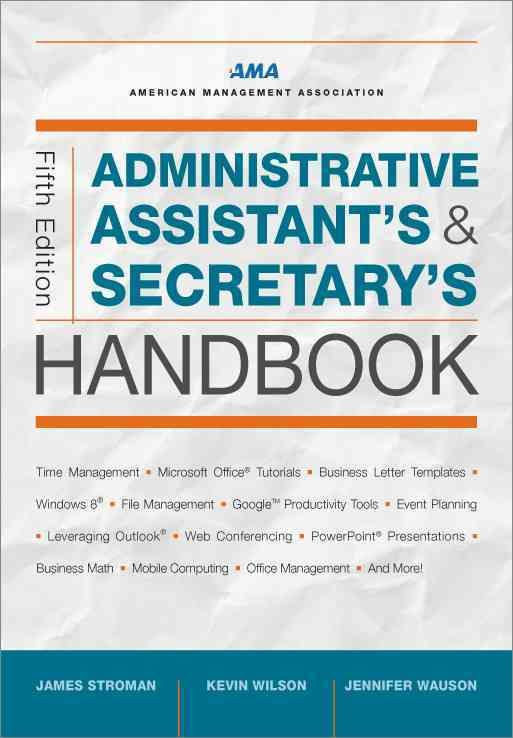 Administrative Assistant's and Secretary's Handbook (Hardcover)