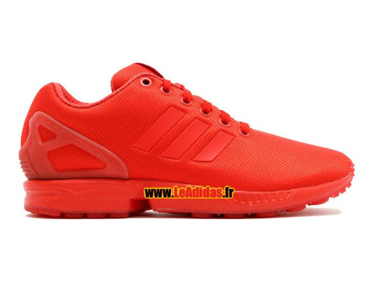 adidas zx flux rouge fluo