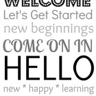 Add a welcoming touch to Meet the Teacher Night by placing this print-out next to the sign-in sheet! Can be printed out or uploaded to a photo proc...