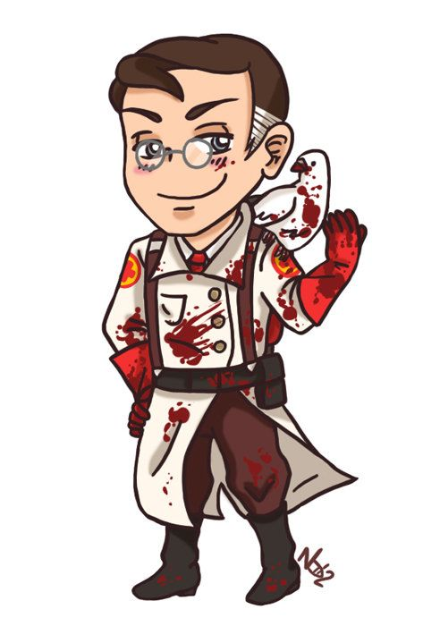 The Medic from Team Fortress 2 Magnet ON SALE