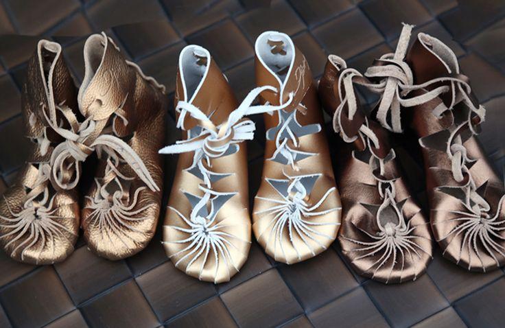 Manila Bean Handmade Django Leather Shoes