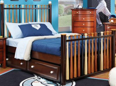 Baseball Bat Bed